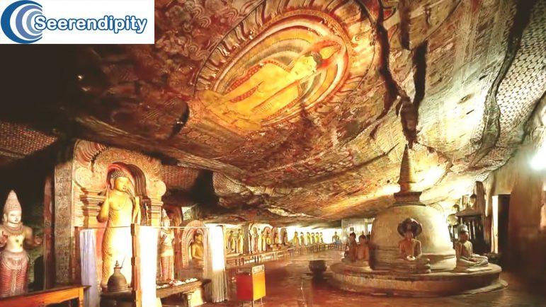 Dambulla golden cave temple