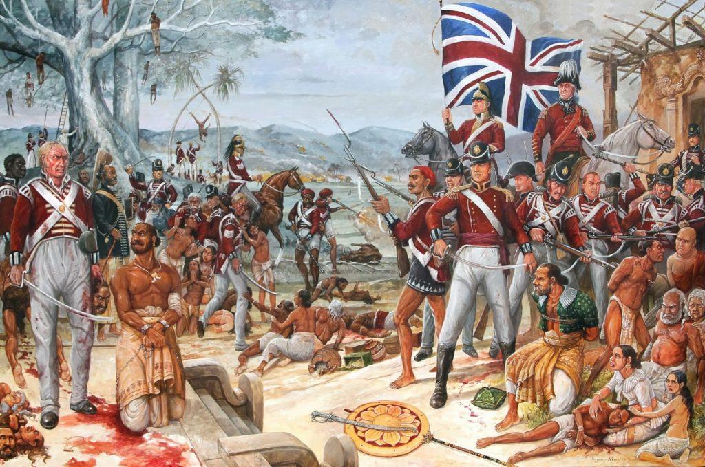 British-ceylon, British attempt on ceylon