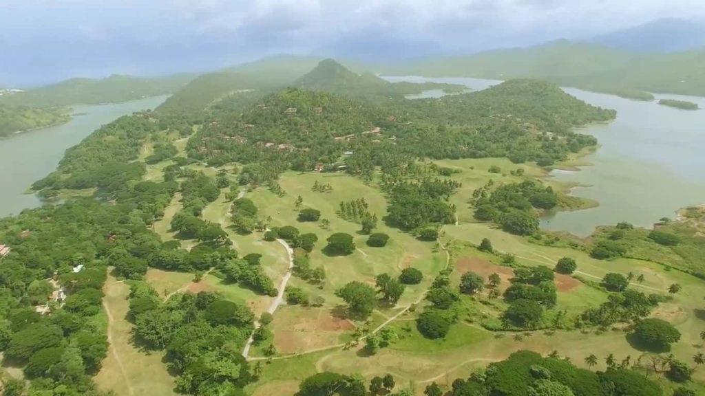 Golfing in Sri Lanka