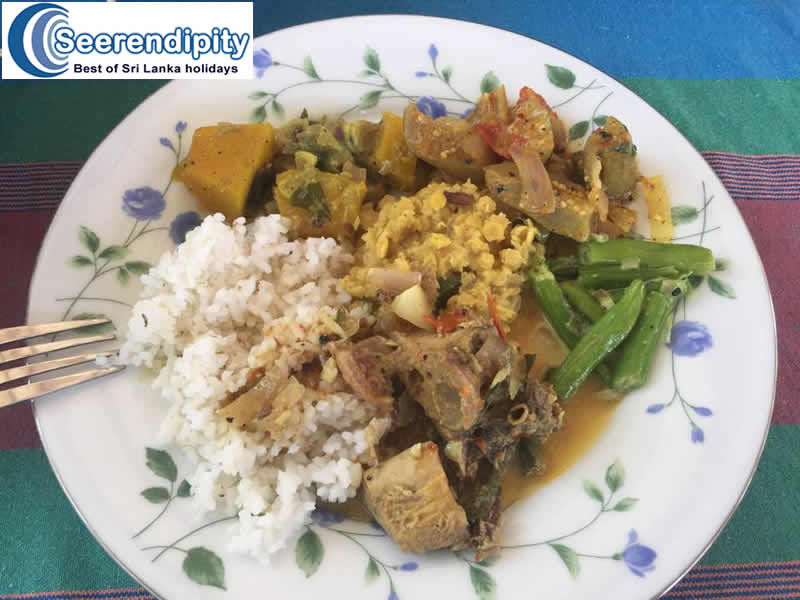 How do you stay healthy while enjoying Sri Lankan foods?